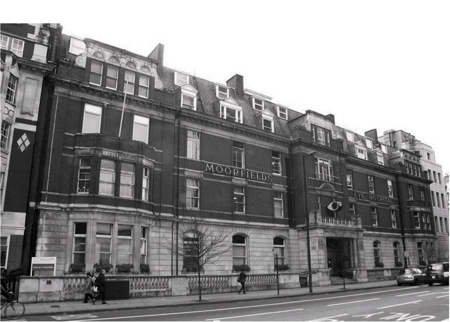 Moorfields eye hospital photo taken from City Road